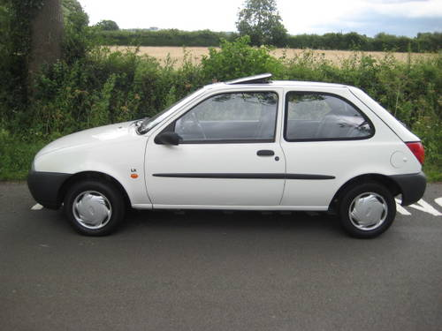 1997 Ford Fiesta 1.25 LX 3 door 33000 miles from new. For Sale (picture 2 of 6)