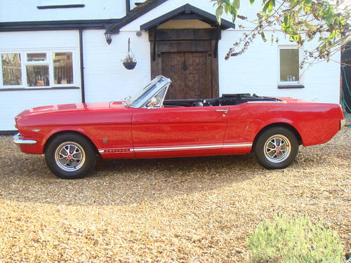 1965 CLASSIC CAR HIRE - Ford Mustang Convertible - Self Drive  For Hire (picture 2 of 6)