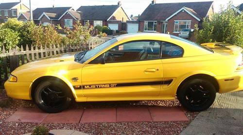 Ford Mustang GT 5 litre V8 Very low miles