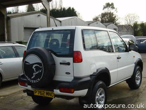 1997 MAVERICK GLS 3 DOOR 2.4 PETROL For Sale by Auction (picture 2 of 6)