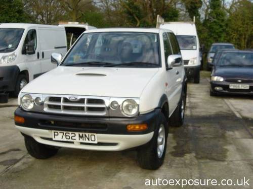 1997 MAVERICK GLS 3 DOOR 2.4 PETROL For Sale by Auction (picture 6 of 6)