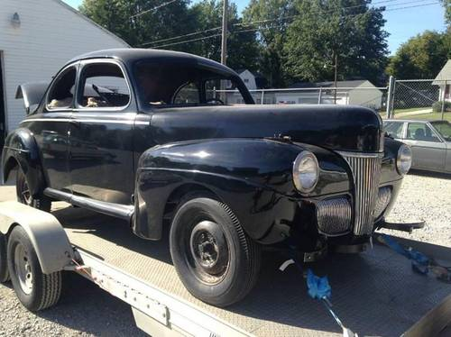 1941 Ford Super Deluxe 5-W Coupe For Sale (picture 1 of 6)
