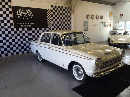 1964 Ford Consul Cortina Super MK I 1500cc Automatic. SOLD (picture 2 of 6)