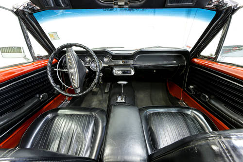 Classic LHD 1968 Ford Mustang 5.0 GT V8 Red Convertible Amer For Sale (picture 3 of 6)