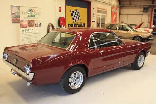 1965 Ford Mustang V8 manual transmission - just restored For Sale (picture 3 of 6)