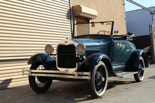 1928 Ford Model A Roadster For Sale (picture 1 of 5)