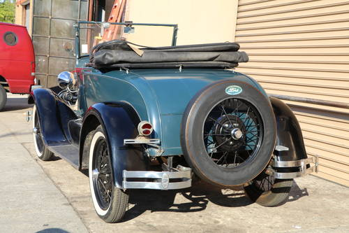 1928 Ford Model A Roadster For Sale (picture 2 of 5)