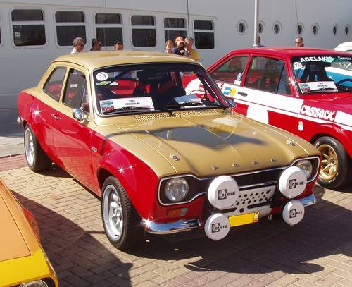 1969 Ford Escort MkI BDA Alan Mann show condition For Sale (picture 2 of 6)