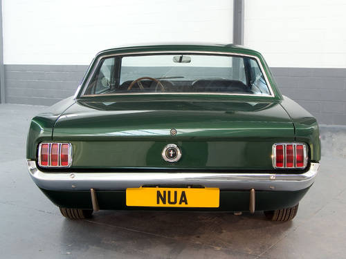 Ford Mustang 6cyl 2 Door Coupe in Highland Green (1965) For Sale (picture 4 of 6)