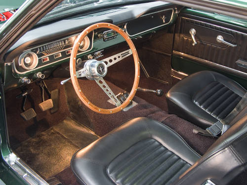 Ford Mustang 6cyl 2 Door Coupe in Highland Green (1965) For Sale (picture 6 of 6)