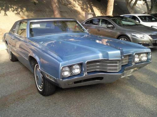 1971 Ford Thunderbird Landau Coupe V8 For Sale (picture 1 of 6)
