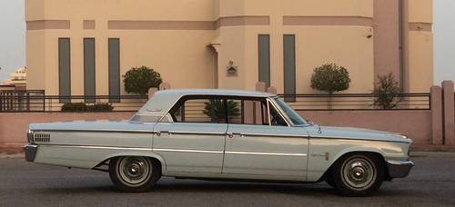 Ford Galaxie 500(5.8Lt) 1963 RHD 3 Speed Automatic For Sale (picture 1 of 4)