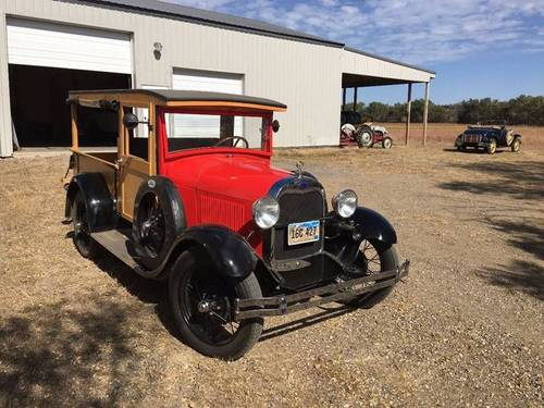 1928 Ford Model A Woody Huckster For Sale (picture 1 of 6)
