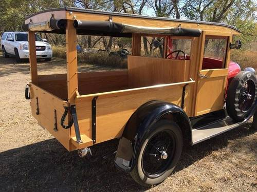 1928 Ford Model A Woody Huckster For Sale (picture 3 of 6)