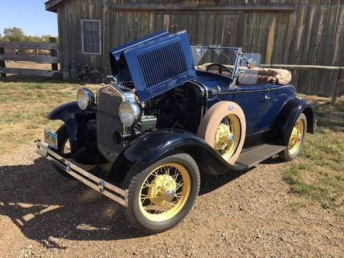 1930 Ford Model A Deluxe Roadster  For Sale (picture 1 of 6)