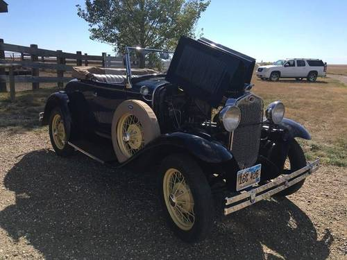 1930 Ford Model A Deluxe Roadster  For Sale (picture 2 of 6)