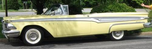 1959 Edsel Corsair Convertible For Sale (picture 1 of 6)