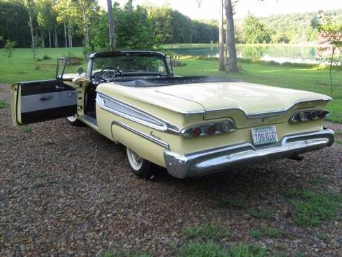 1959 Edsel Corsair Convertible For Sale (picture 2 of 6)