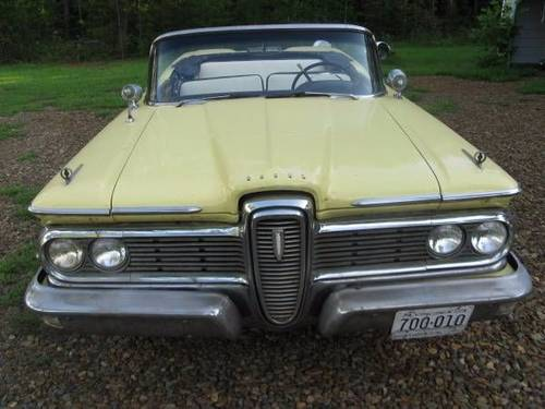 1959 Edsel Corsair Convertible For Sale (picture 3 of 6)