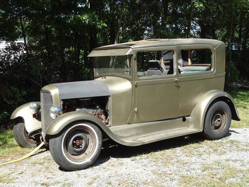 1929 Ford Model A 2DR Sedan For Sale (picture 1 of 6)