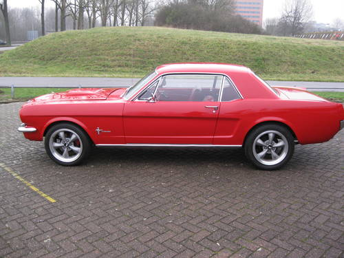 1966 Ford Mustang  2-door coupe  € 37.900 For Sale (picture 2 of 6)