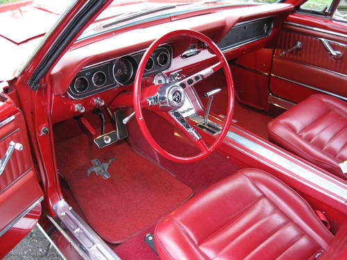 1966 Ford Mustang  2-door coupe  € 37.900 For Sale (picture 4 of 6)