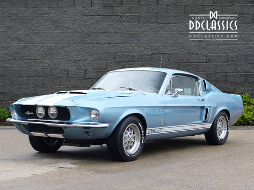 1967 Ford Shelby Mustang GT 500 Fastback (LHD) For Sale (picture 1 of 6)
