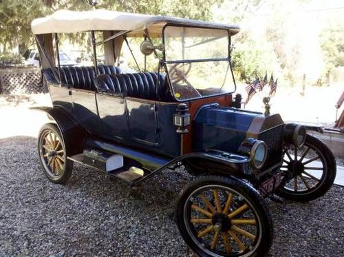 1914 Ford Model T Touring Car For Sale (picture 1 of 5)