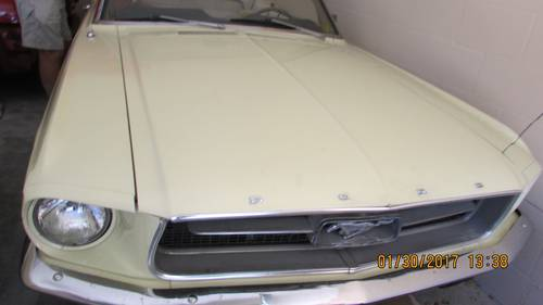 1967 Ford Mustang Convertible For Sale (picture 1 of 6)