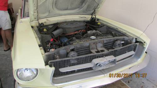 1967 Ford Mustang Convertible For Sale (picture 3 of 6)