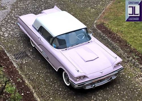 1959 FORD THUNDERBIRD, VERY RECENT RESTORATION For Sale (picture 1 of 6)