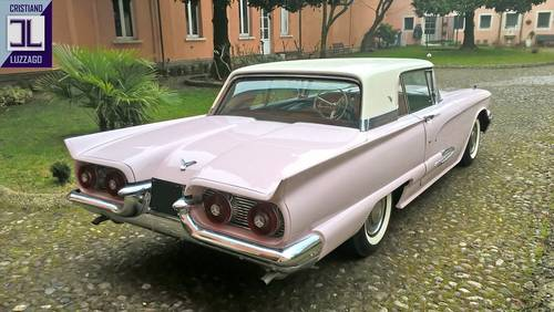 1959 FORD THUNDERBIRD, VERY RECENT RESTORATION For Sale (picture 3 of 6)