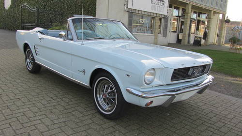 Ford Mustang Conv V 8 1966 For Sale (picture 1 of 6)