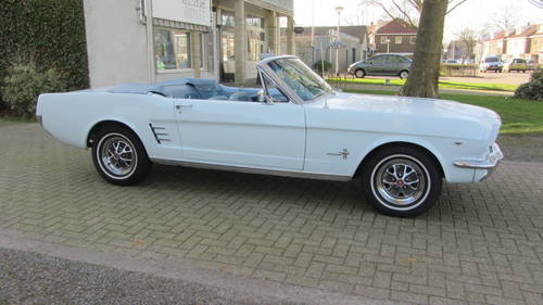 Ford Mustang Conv V 8 1966 For Sale (picture 3 of 6)