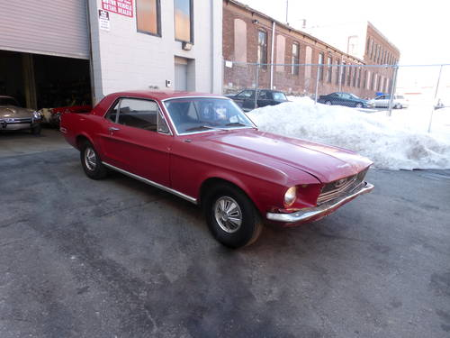 1968 Ford Mustang Coupe for Restoration - For Sale (picture 1 of 6)
