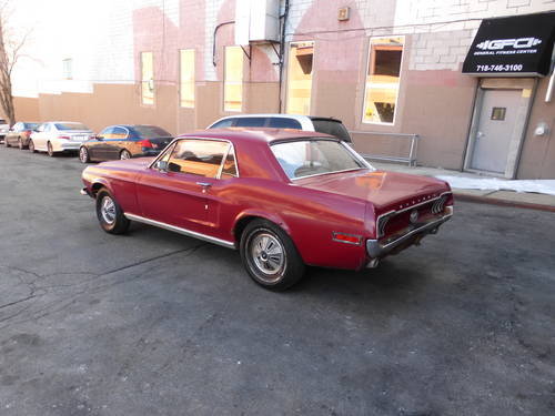 1968 Ford Mustang Coupe for Restoration - For Sale (picture 4 of 6)