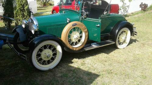 1929 Ford Model A Deluxe Roadster For Sale (picture 2 of 6)