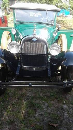 1929 Ford Model A Deluxe Roadster For Sale (picture 3 of 6)