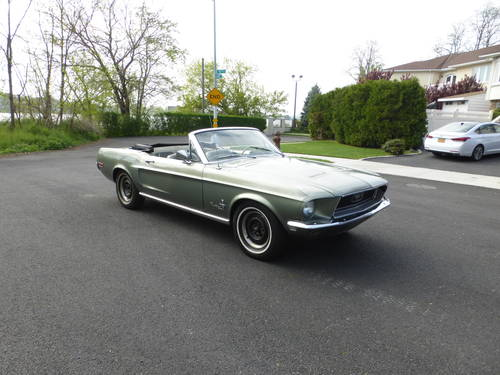 1968 Ford Mustang 289 V8  Convt Driver - SOLD (picture 1 of 6)