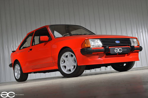 1986 Stunning & Extremely Rare Ford Escort Gartrac G6 - 37K Miles SOLD (picture 2 of 6)