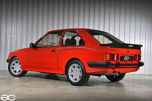 1986 Stunning & Extremely Rare Ford Escort Gartrac G6 - 37K Miles SOLD (picture 3 of 6)