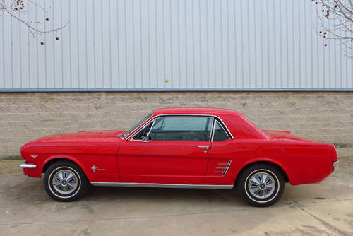 FORD MUSTANG V8 COUPE 1966 For Sale (picture 1 of 6)