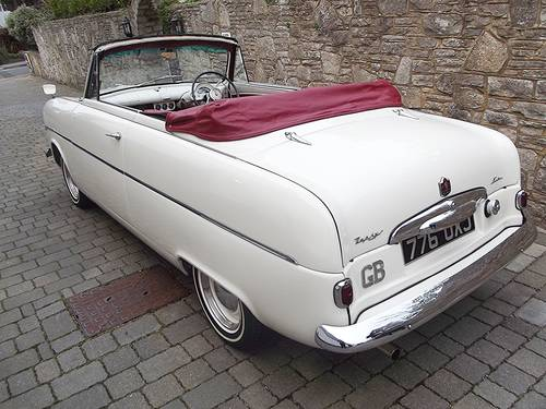 1953 FORD ZEPHYR SIX MK1 Convertible with power hood SOLD (picture 2 of 6)