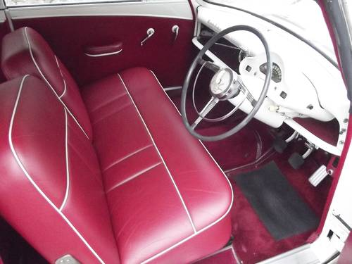 1953 FORD ZEPHYR SIX MK1 Convertible with power hood SOLD (picture 4 of 6)