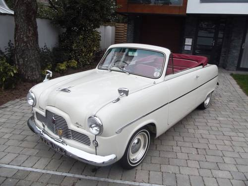 1953 FORD ZEPHYR SIX MK1 Convertible with power hood SOLD (picture 1 of 6)