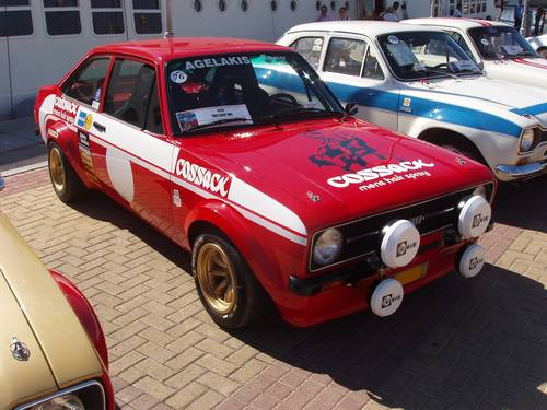 1975 Ford Escort Mk2 RS 2000 Cossack Group 2, show condition For Sale (picture 2 of 6)