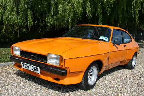 1977 Ford Capri 3.0 S, X Pack.  For Sale (picture 1 of 6)