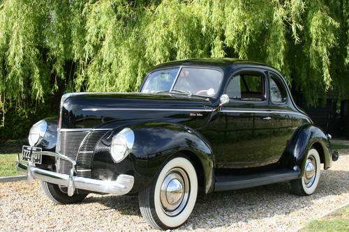1940 Ford Opera Coupe Deluxe. The best available .. Anywhere For Sale (picture 1 of 6)