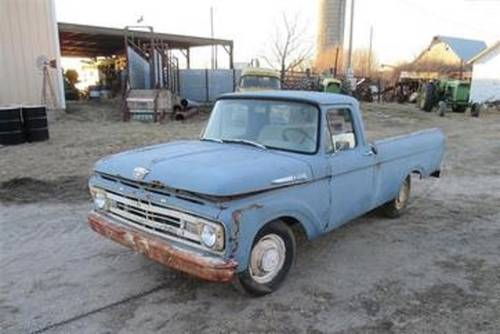 1962 Ford F100 Pickup For Sale (picture 1 of 4)