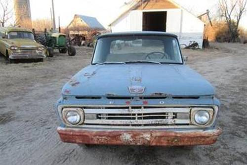 1962 Ford F100 Pickup For Sale (picture 2 of 4)
